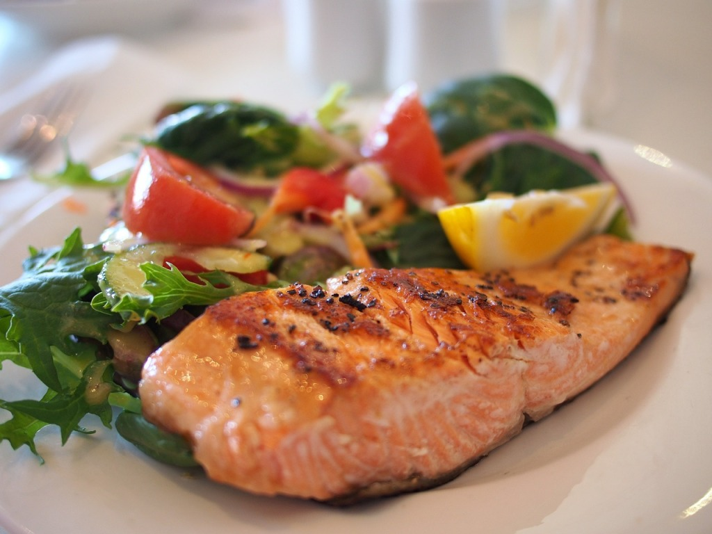 healthy food tips salmon